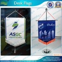 cheap 100% polyester football pennants
