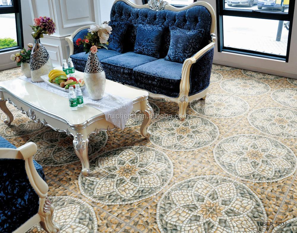 2015 New Model Porcelain Spanish Ceramic Floor Tile Design From