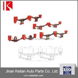 Professioanl manufacturer semi trailer suspension