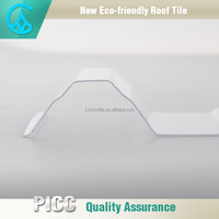 1mm,1.2mm,1.5mm,2mm Thickness Plastic PC Corrugated Transparent Roofing Sheet