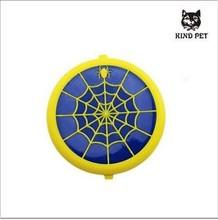 2015 wholesale dog toys dog flying disc treat dog toy rubber disc