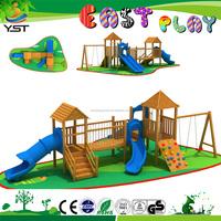 2016 children wooden outdoor toys, children outdoor playground