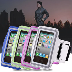 Waterproof PU Leather Genernal Armband phone bag For Iphone 4/4S