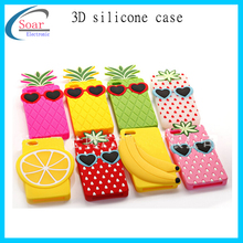 Fruits shape 3D silicone case for iPhone 6