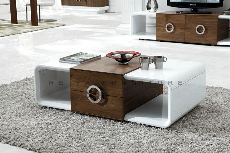 tabla de consola moderna blanca mesa de madera venneer-Mesas de ...