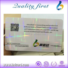 Good Price CR80 PVC Laser Card for Business Mifare 1k bytes RFID Card