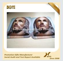 Promotional PVC mask/custom OEM PVC mask/3D embossed PVC mask