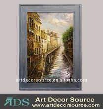 Venice Oil Painting w/Frame in 3 sizes