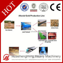 HSM CE ISO Life Warranty Best Price gold washing trommel for gold separation