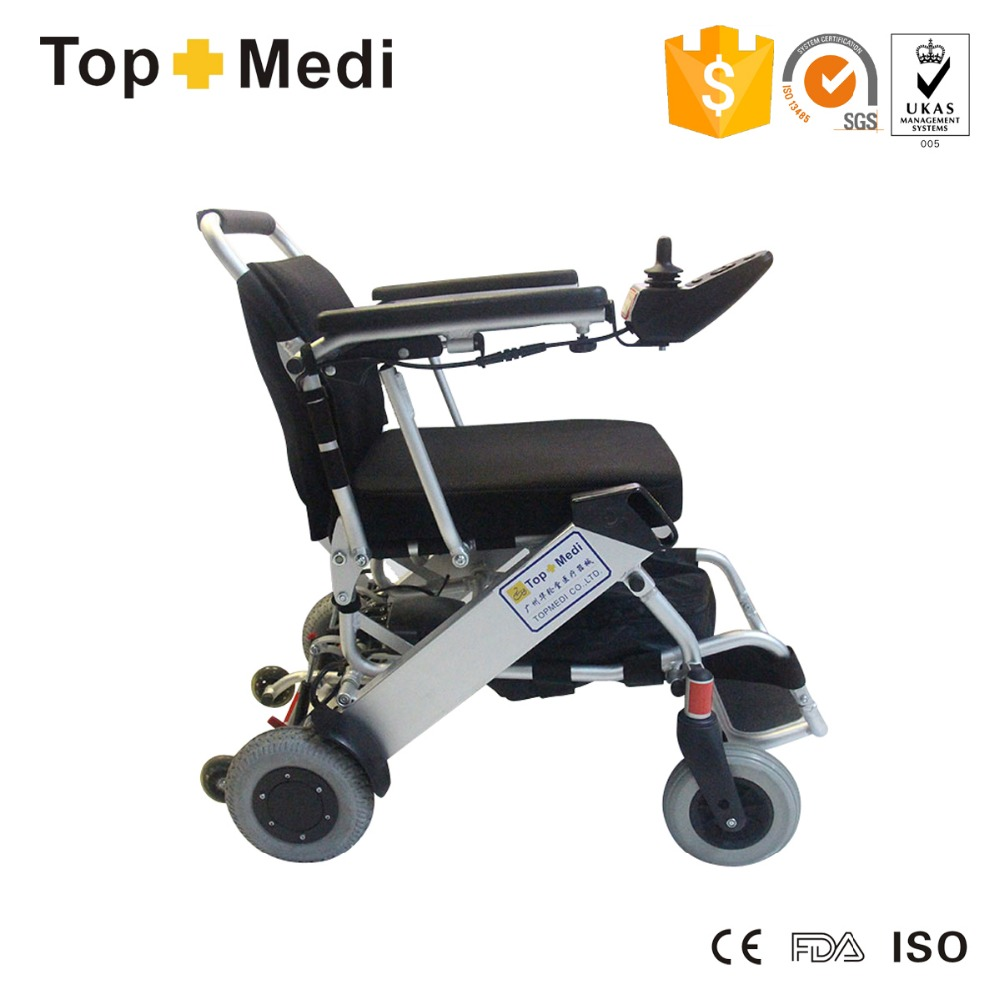 Economical portable lightweight folding electric power Portable motorized wheelchair