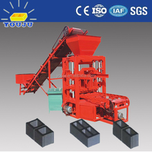QTJ4-26 4-26C cement cost of building a brick wall fly ash brick making machine for india