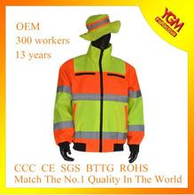 colorful 100% polyester bomber jacket for men