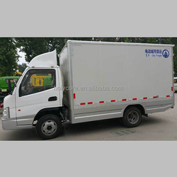 mobile electric pickup van made of composite material holypan