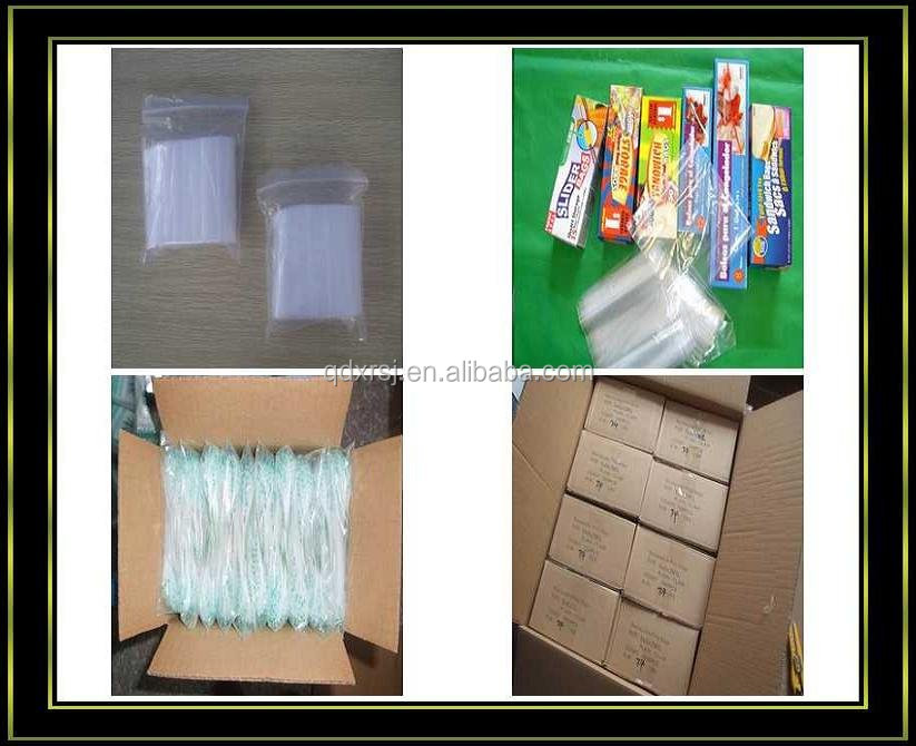 Leakproof liquid food storage bags freezer bags with zipper seal