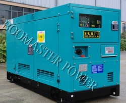 100kva Silent Mitsubishi Engine power diesel generator