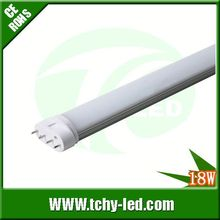 Professional high lumens t8 led xx animal video tube for swimming pool