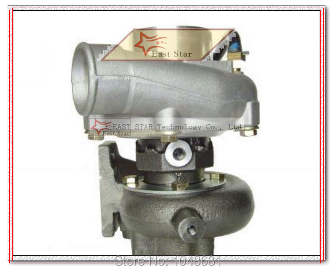 TB25 471024-7B 471024 14411-24D00 Turbo Turbocharger for Nissan Hino Gold Dragon middle bus Engine FD46 with Gaskets - (2)