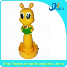 2015 newest cut bee reading pen for kids to learn English Chinese DC009