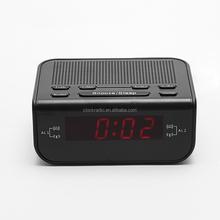 LED ALARM CLOCK RADIO AM/FM TWO WAY RADIOS