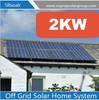 Easy installation 2kw solar grid tie system solar panel system