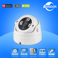 Shenzhen Indoor Camera 1080p Security IP Dome Camera With Camera Specifications