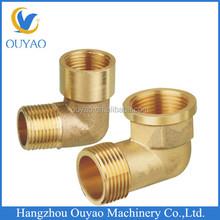 1.5d brass elbow brass male female elbow factory direct