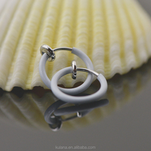 15 mm Wide Fake Piercing Crazy Lip Micro nose Ring