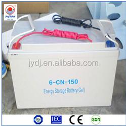 12V 24V 100ah 200ah 300ah maintenance free deep cycle gel battery for solar street lighting