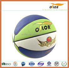 PVC laminated colorful basketball