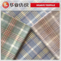 yarn dyed plaid cotton flannel shirt fabric from wholesale alibaba