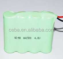 7.2v high power ni-mh rechargeable battery pack cat battery stick