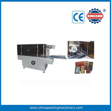 Automatic Perfume Box Cellophane Overwrapping Machine