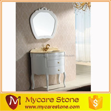 New Arrival villa bathroom vanity cabinet on sale,oak,PVC,MFC,Lacquer cabinets