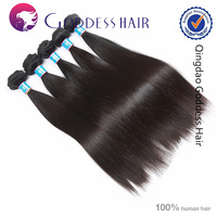 Alibaba China sliky straight hair extension ami longer Brazilian virgin hair