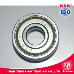 Italy Market Pulley Wheel Mini Ball Bearings 608ZZ