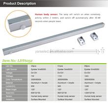 Hot sell optional length Aluminum Epistar chips led sensor wardrobe light