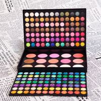 Free Shipping Hot 183 Color Professional Brand Makeup Palette 168 Shimmer & Matte Eye Shadow 6 Face Powder 9 Blusher P183 V1059A