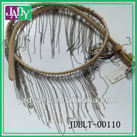 cheap 2014 wholesale new style bead belt