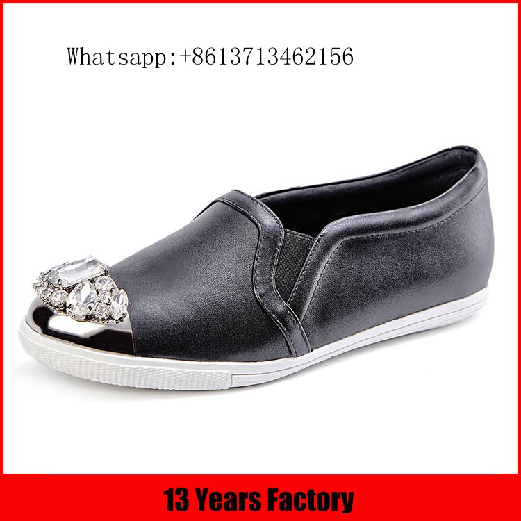 Hottest selling high quality fashion comfortable bowknot ornament slip on 2016 women flat shoes