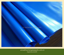 PVC coated tarpaulin polyester fabric for truck train cover tent awning
