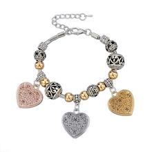 2015 Valentine Gift fashion Murano Glass Handmade Lamp Bead Bracelets China Supplier Wholesale