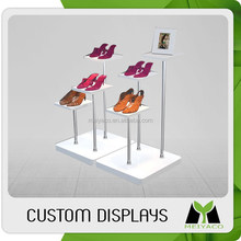 Good quality new arrival floor wood or metal display for shoes