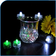 2015 romantic Wedding Decoration Led Mini Submersible Lights For Party