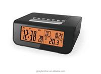 Bathroom Alarm clock radio with headphone jack