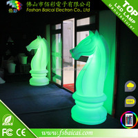 colorful led giant garden chessman- Chess Pawn BCD-251C
