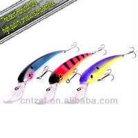 2012new high quality best selling hard metal fishing lure Deep Demon 275mm 116g