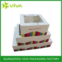 Innovative design frozen food box packaging