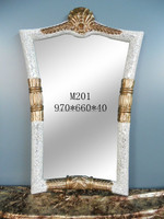 Antique European Luxury Salon Mirror, Salon Wall Decoration Mirror, Beauty Salon Mirror BF02-M201