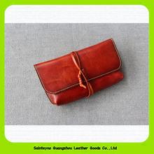 15391 Bandaged retro and elegant clutch hand purse for men