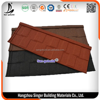 50 Years Al-Zn Steel Classic Metal Roofing Tile For Coloured Roof Tile Price